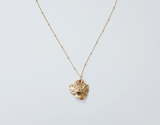 Rose mallow Necklace