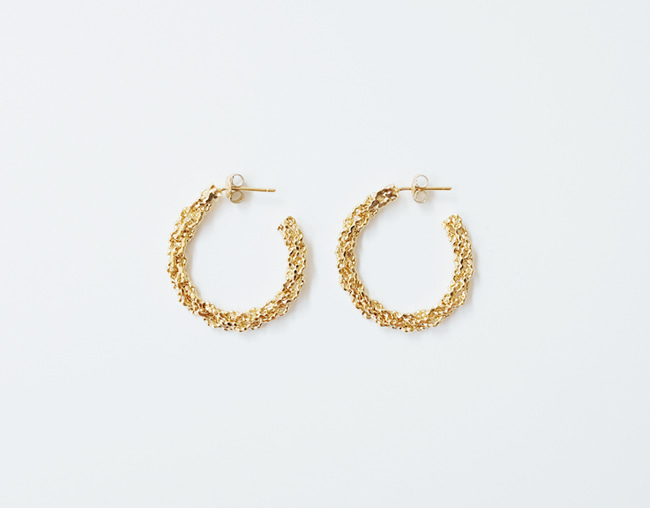 Sparkling Earring (Circle)