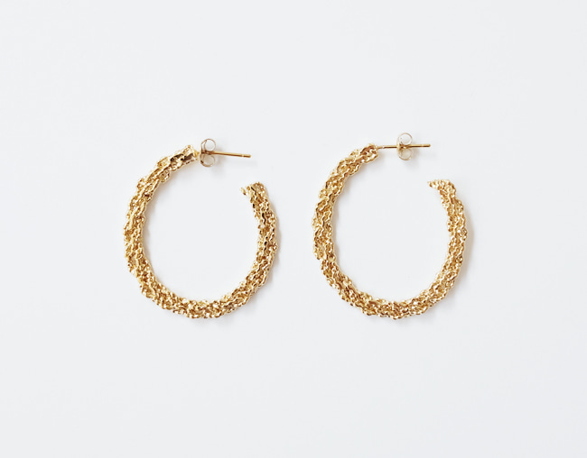 Sparkling Earring (Oval)