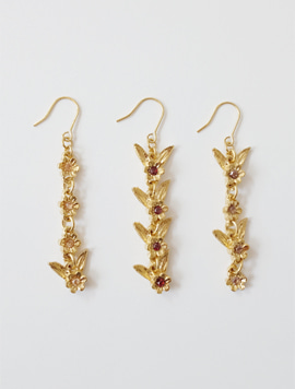 Flower Wing Earring Type1,2,3 (한쪽)