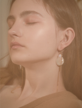 Water Drop Rong Pearl Earring