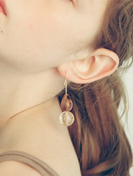 Two Raindrop Earring