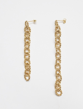 Antique Chain Earring