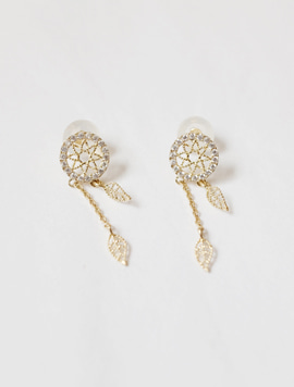 14k Dreamcatcher Earring