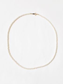 14k Pearl Basic Necklace